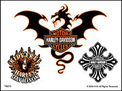 Harley Davidson Temporary Tattoos #13