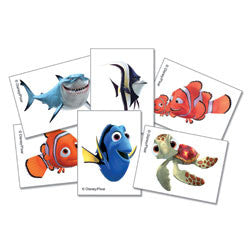 Disney Pixar Finding Nemo Tattoos (6 Pack)