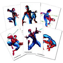 Spider-Man Tattoos (6 Pack)