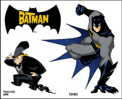Batman Temporary Tattoos #2