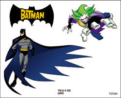 Batman Temporary Tattoos #4
