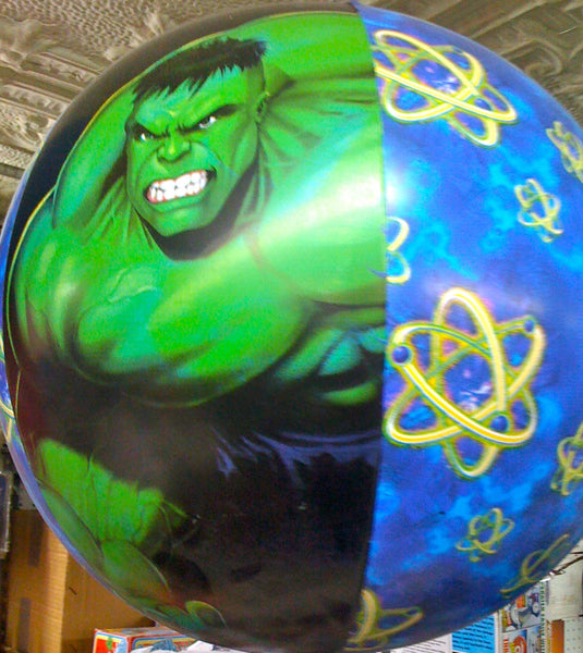 "Incredible Hulk Inflatable 16"" Blowup Beach Ball"