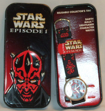 Darth Maul Officially Licensed Watch in Tin Box