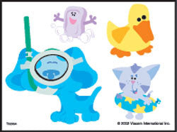Blues Clues Temporary Tattoos #4