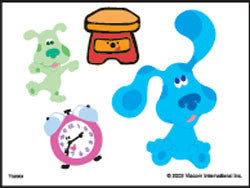 Blues Clues Temporary Tattoos #3