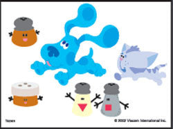 Blues Clues Temporary Tattoos #2