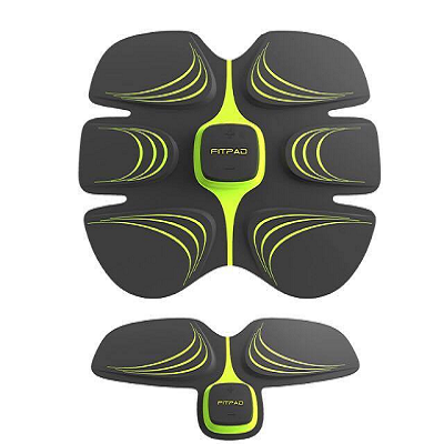 Fitpad Fitness - Fitpad & Armpad DUO Set - Best Alternative To Sixpad - UK Abs Workout and Exerciser - Toning Belt