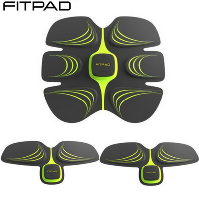 Fitpad Fitness - Fitpad & 2 Armpads Complete Set - Best Alternative To Sixpad - UK Abs Workout & Exerciser - Toning Belt