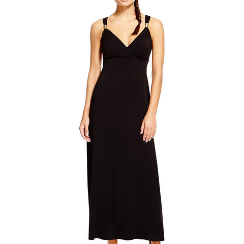 Black Maxi Dress - Dresslland