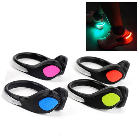 LED Luminous Shoe Clip Light for Night Safety
