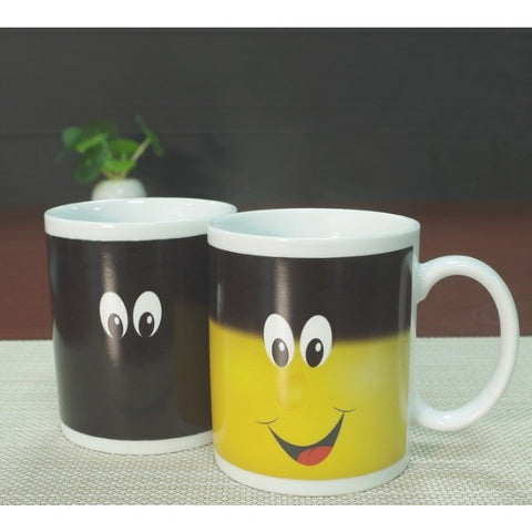 Color Changing Smiley Face Mug