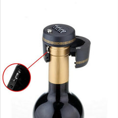 Wine Bottle Cap Combination Lock and wine stopper