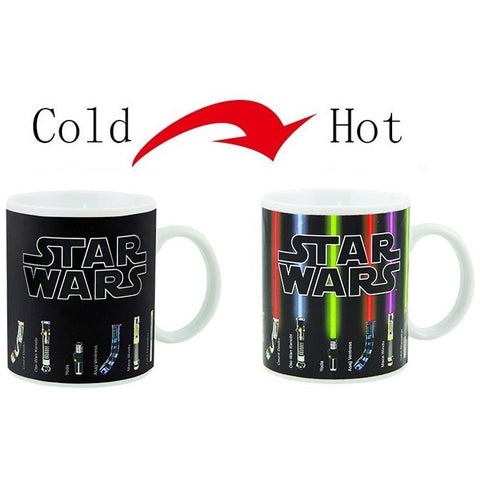 Light Saber Color Changing Mug