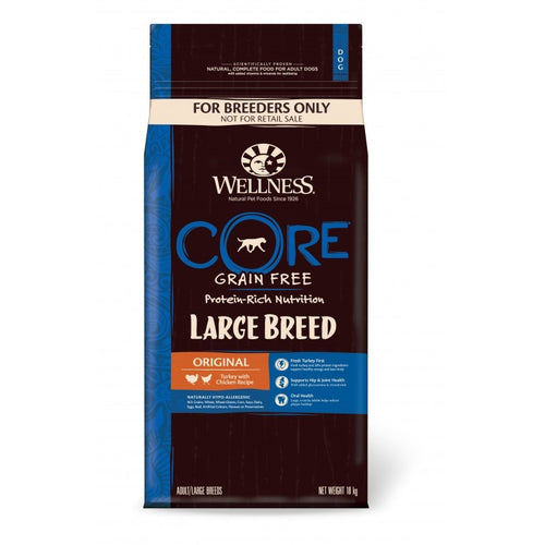 CORE LARGE BREED ADULT, KALKUN MED KYLLLING 18KG