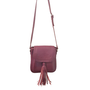 Leather cross body bag Canyon X