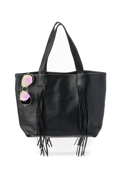 Leather Handbag Reid Handbags Dallas Liquorice