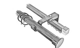 Double Stainless Eyelet Rod and Curtain Rail, 25mm