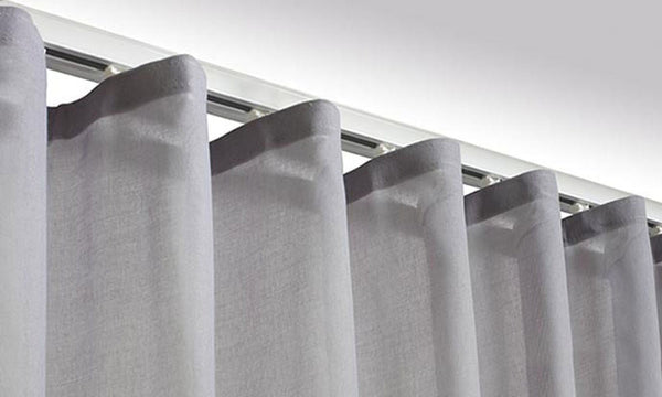 Wave Pleat Curtain Track