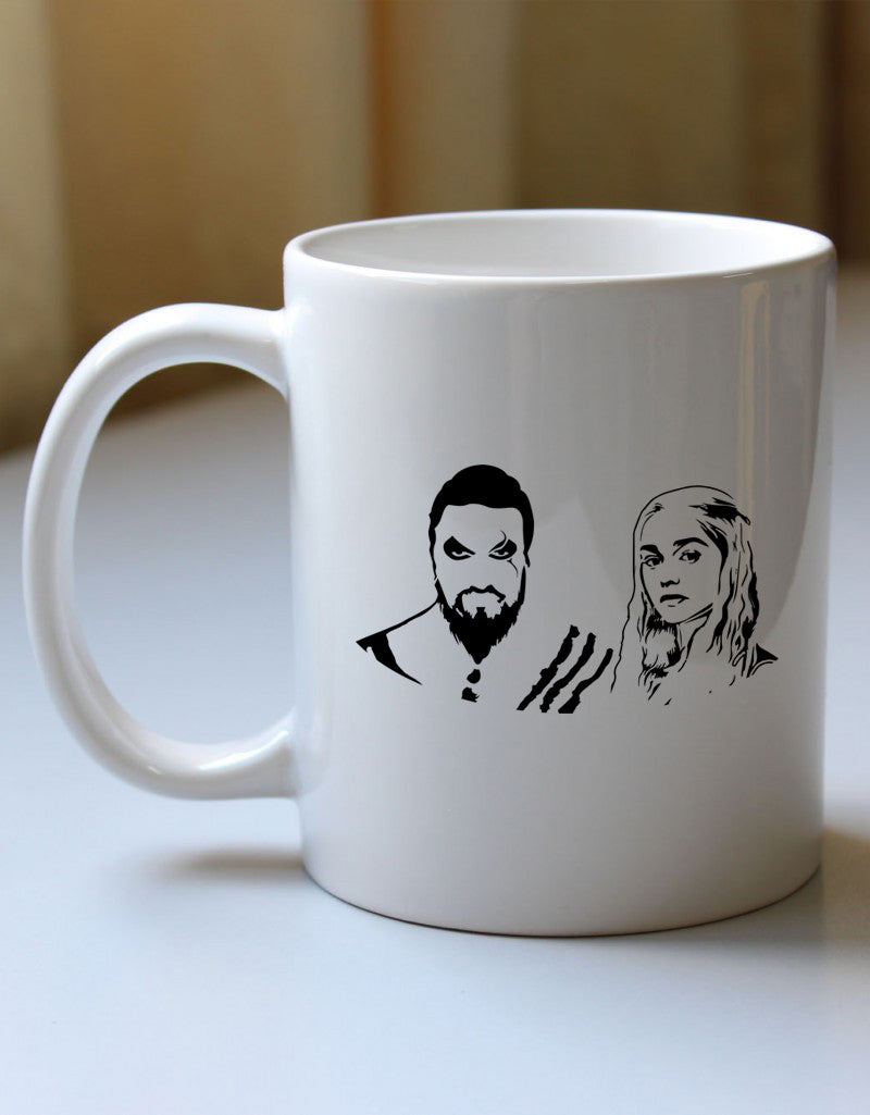 Khal Drogo and Khaleesi's Mug