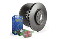 FORD Mondeo Saloon (Mk2)  1.8 TD 96-2000 EBC Rear Discs and Greenstuff Pads Kit