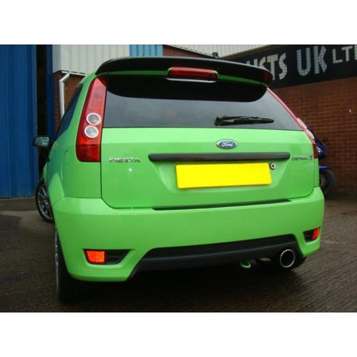 Mk6 Fiesta Zetec-S Cat Back Exhaust