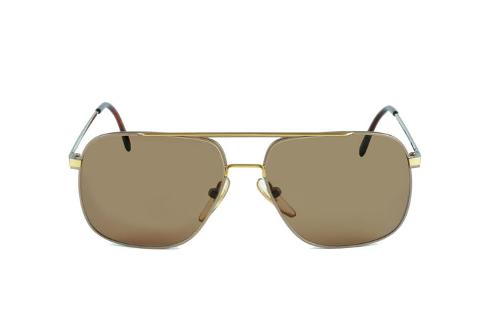 Visage 851 Brown Gold - Original Vintage Sunglasses (OV17040)