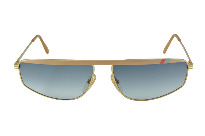 Bahia Gold Cream - Original Vintage Sunglasses (OV19037)