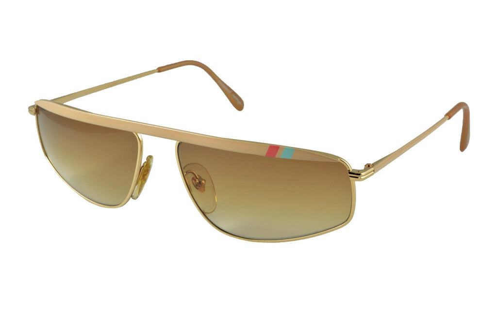 Bahia Gold Cream - Original Vintage Sunglasses (OV19038)