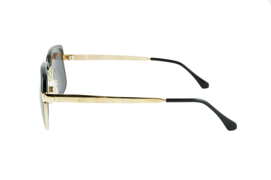 Ilario C Gold Black - Original Vintage Sunglasses (OV17053)