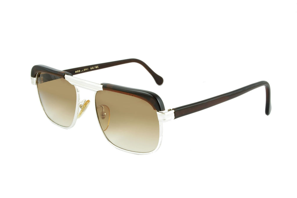 Lord Silver Brown - Original Vintage Sunglasses (OV17056)