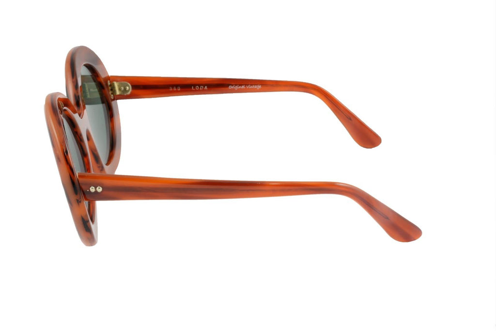 360 Light Brown Striped - Original Vintage Sunglasses (OV17073)