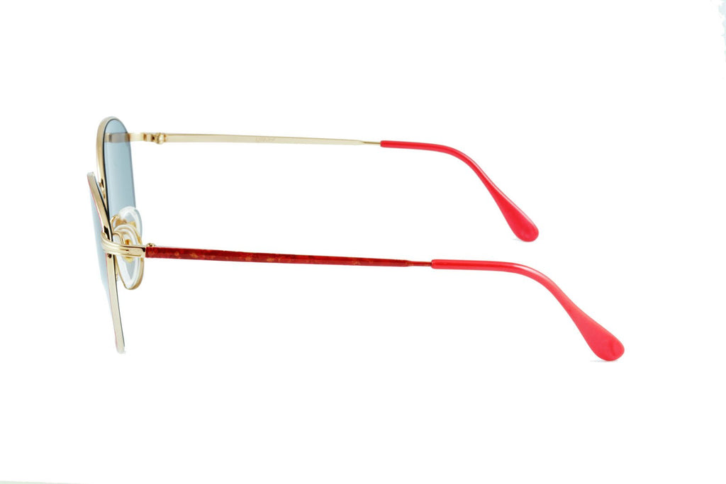Olga Gold Red - Original Vintage Sunglasses (OV17029)