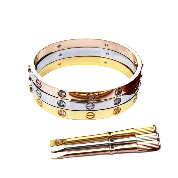 Le Dernier Amour Screwdriver Love Bracelet [6 Variants]