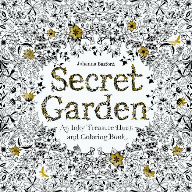 Secret Garden English Edition Coloring Book