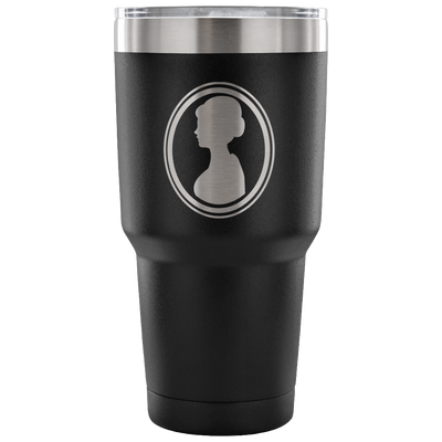 'All that I am and all that I hope to be' Scratch-able Powder Coating Mother Quote Tumbler