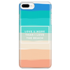 'Love you more than I love the beach' Summer Love Quotes iPhone Case