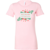 'Bloom where you are planted' Good Morning Quotes Bella Women's Shirt [4 Variants]