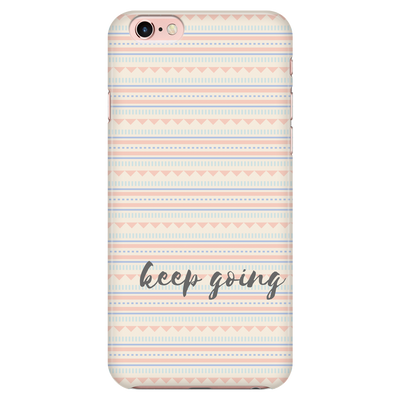 'Keep going' Inspirational Quotes iPhone Case [5 Variants]