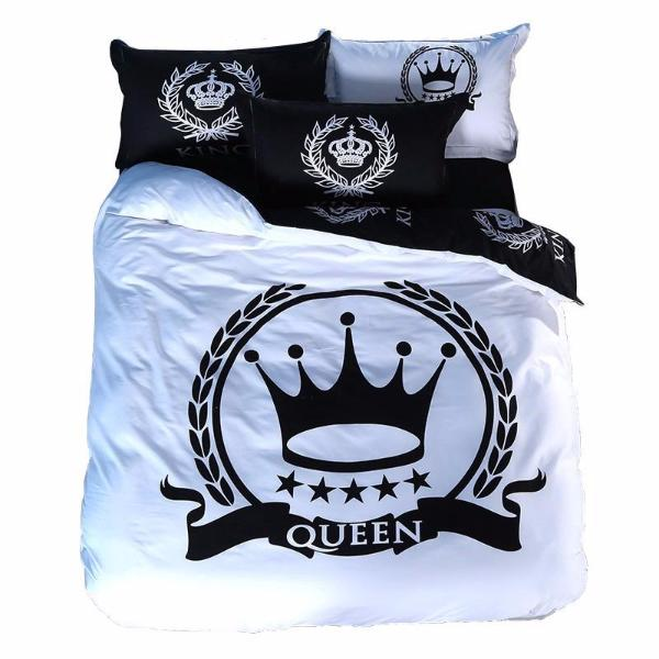 Royal Printed Couple Bed Sheets [8 Variants]
