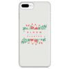 'Bloom where you are planted' Inspirational Quotes iPhone Case