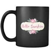 'Hello Sunshine' Good Morning Quotes Mug