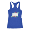 'Bloom where you are planted' Good Morning Quotes Racerback Tank [4 Variants]