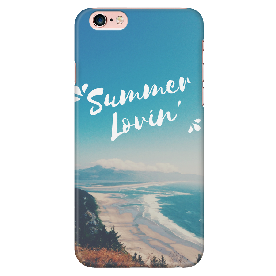 'Summer lovin' Summer Quotes iPhone Case