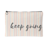 'Keep going' Inspirational Quotes Pouch