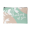 'Thinking of you' Love Quotes Pouch