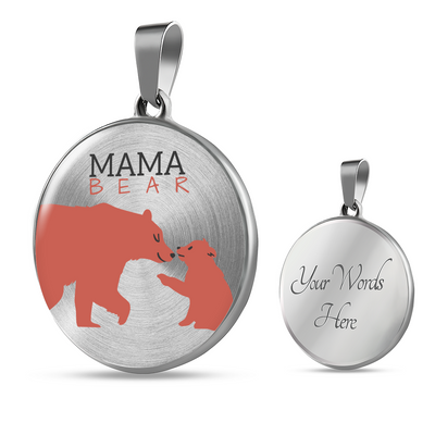 'Mama bear' Mother Daughter Luxury Accessories