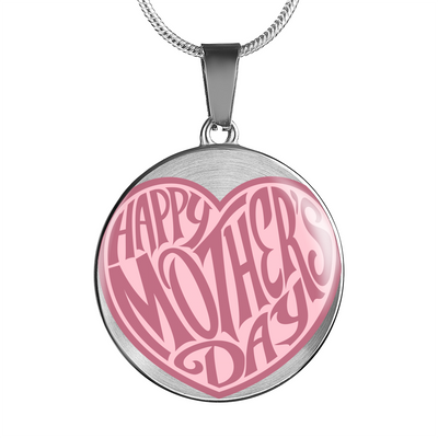 'Happy Mother's Day' Mother Quotes Luxury Necklace