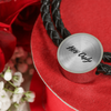 'Her Only' Couple Love Quotes Leather Bracelet [4 Variants]