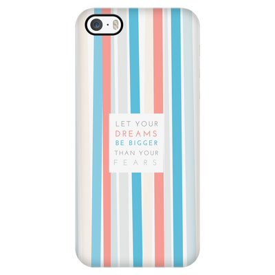 'Let your dreams be bigger than your fears' Motivational Good Morning Quotes iPhone Case [5 Variants]