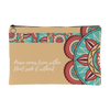 'Happiness comes from within' Buddhist Mandala Accessory Pouch
